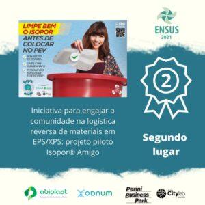 post 2 lugar premio sustentabilidade