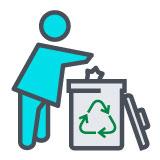 Engajamento das Comunidades na destinação correta de resíduos recicláveis